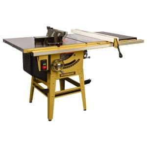 Powermatic – Table Saw, 1-3/4 HP, 50″ Fence with Riving Knife, Model 64B-50